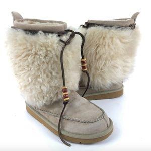RARE UGG Rainier LIMITED EDITION Eskimo Suede Boot
